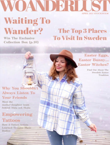 Woanderlust Magazine April 01, 2021 00:00