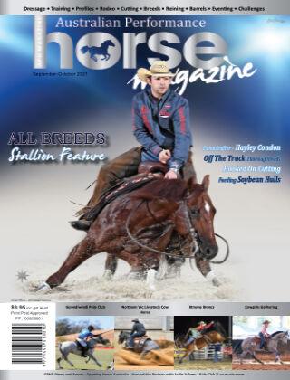 Australian Performance Horse Magazine Sept - Oct 2021