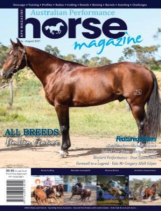 Australian Performance Horse Magazine Jul - Aug 2021