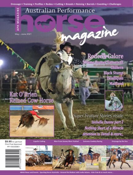 Australian Performance Horse Magazine April 30, 2021 14:00