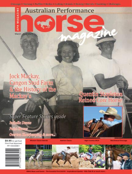 Australian Performance Horse Magazine February 28, 2021 13:00