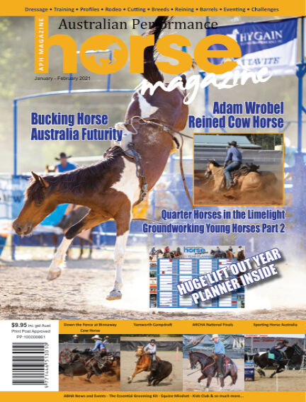 Australian Performance Horse Magazine December 31, 2020 13:00