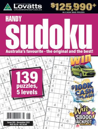 Lovatts Handy Sudoku Issue 205