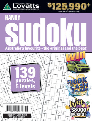 Lovatts Handy Sudoku Issue 204