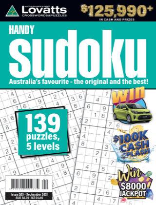 Lovatts Handy Sudoku Issue 203