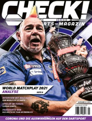 CHECK! Das Darts-Magazin 01-2021